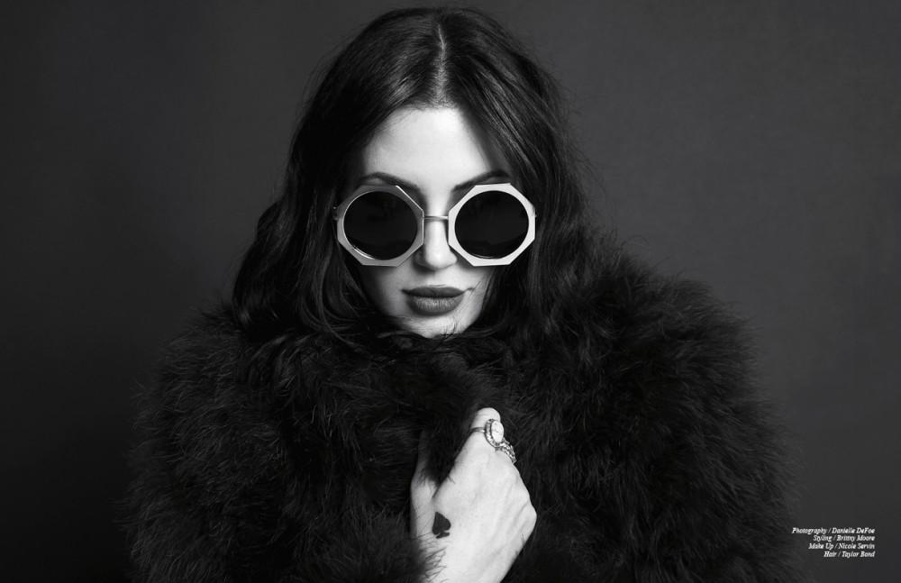 Jacket & Sunglasses / Vintage