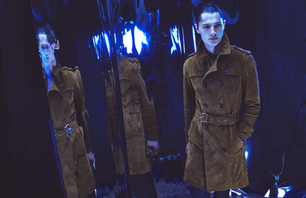 Vintage suede jacket / Gucci