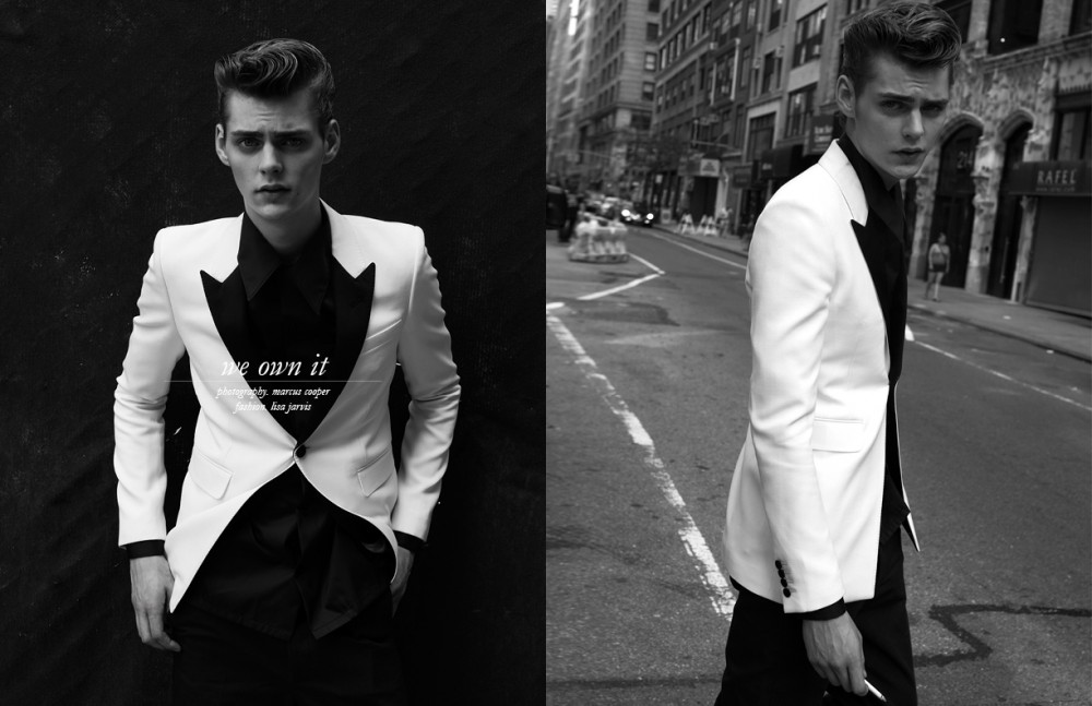 Jacket / Saint Laurent  Shirt / Gucci