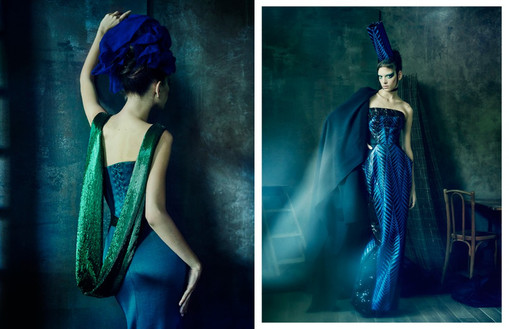 Dress / Alexis Mabille Haute Couture Opposite Total look / GAULTIER PARIS
