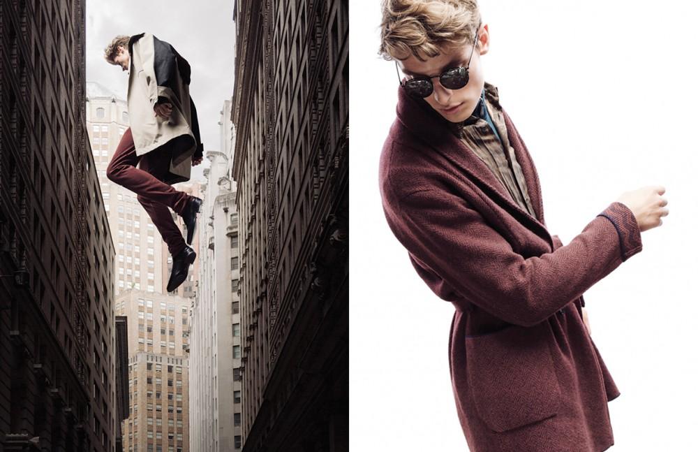 Coat / Alexander Wang Trousers / Bottega Veneta Shoes / Roberto Cavalli Opposite Jacket / Missoni Shirt / Roberto Cavalli Jumper / Ermenegildo Zegna Sunglasses / KRISVANASSCHE