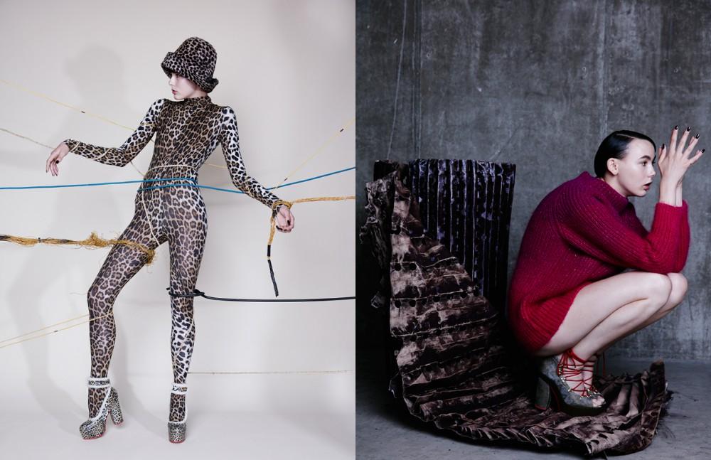 Total look / WUNDERKIND Opposite Jumper / Katie Eary Shoes / WUNDERKIND
