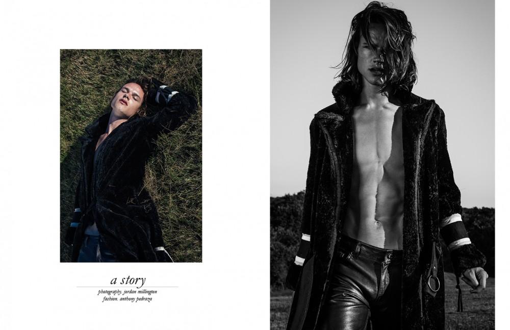 Coat / Greg Lauren Trousers / BLK DNM