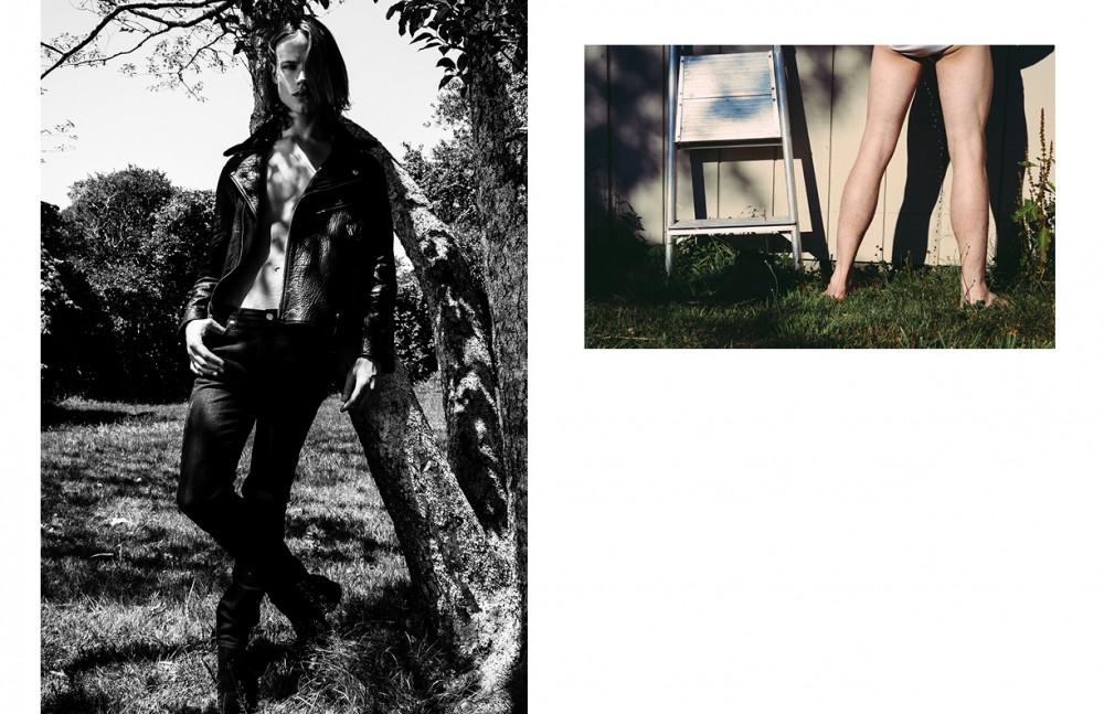 Jacket / Ovadia & Sons Jeans / BLK DNM Shoes / J. Lindeberg Underwear / Calvin Klein
