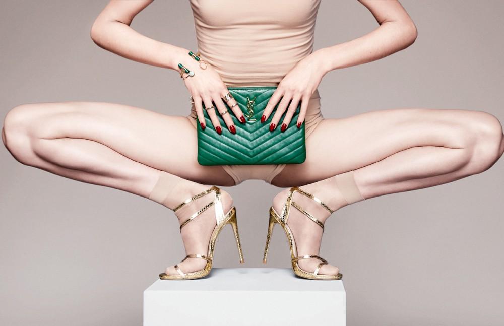 Bag / Saint Laurent Jewellery / Stylist's own Shoes / Carvel Socks / Falke