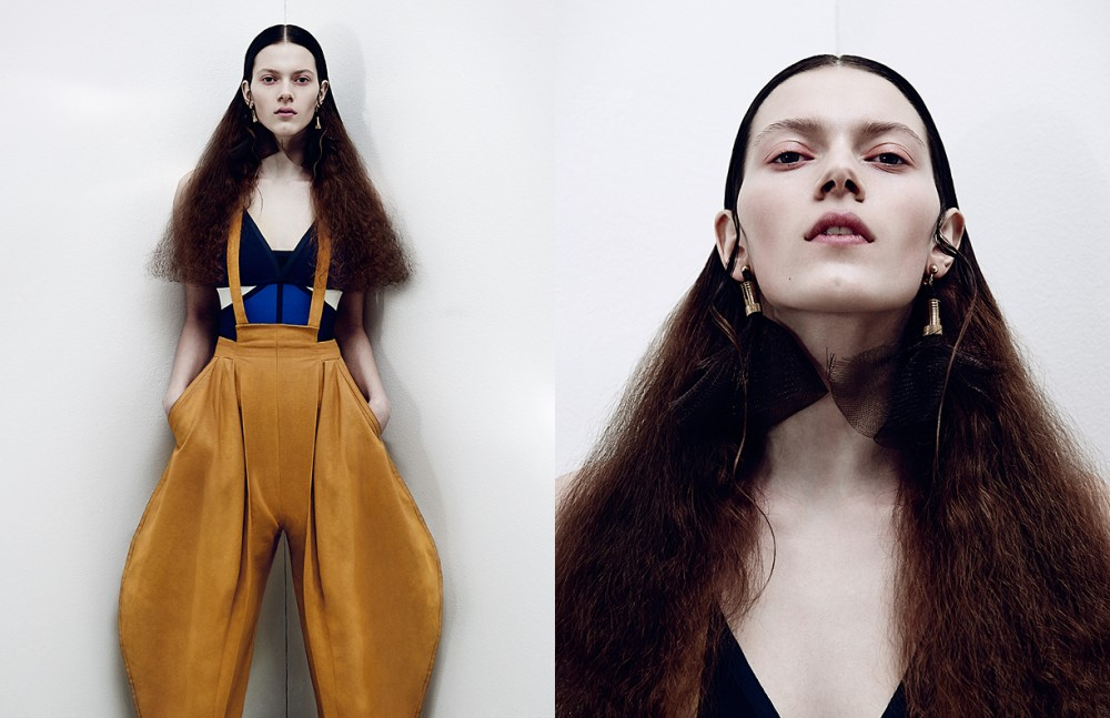 Dress / Laurèl Trousers / Karoline Lange-Engel Earrings / William Fan Opposite Dress / Laurèl Earrings / William Fan