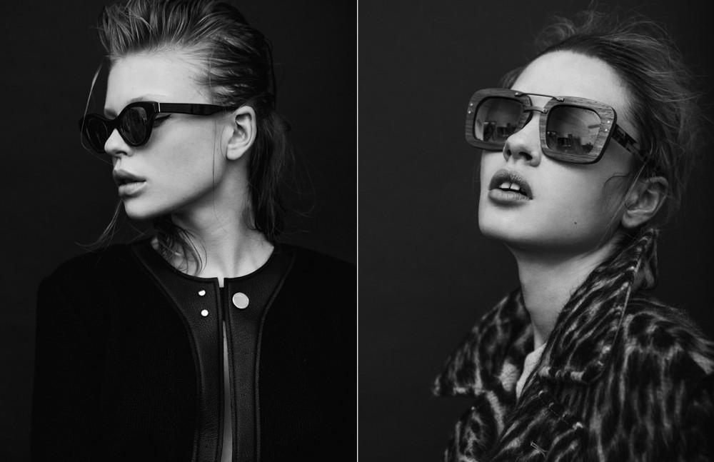 Jumpsuit / Calvin Klein Sunglasses / Retrosuperfuture @andy Wharool Opposite Animalier coat / Ports1961 Sunglasses / Prada