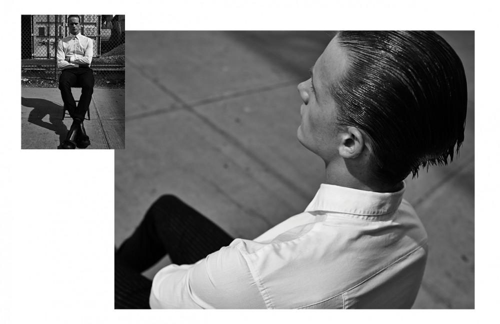 Shirt / Calvin Klein Collection Trousers / Topman Shoes / Ermenegildo Zegna