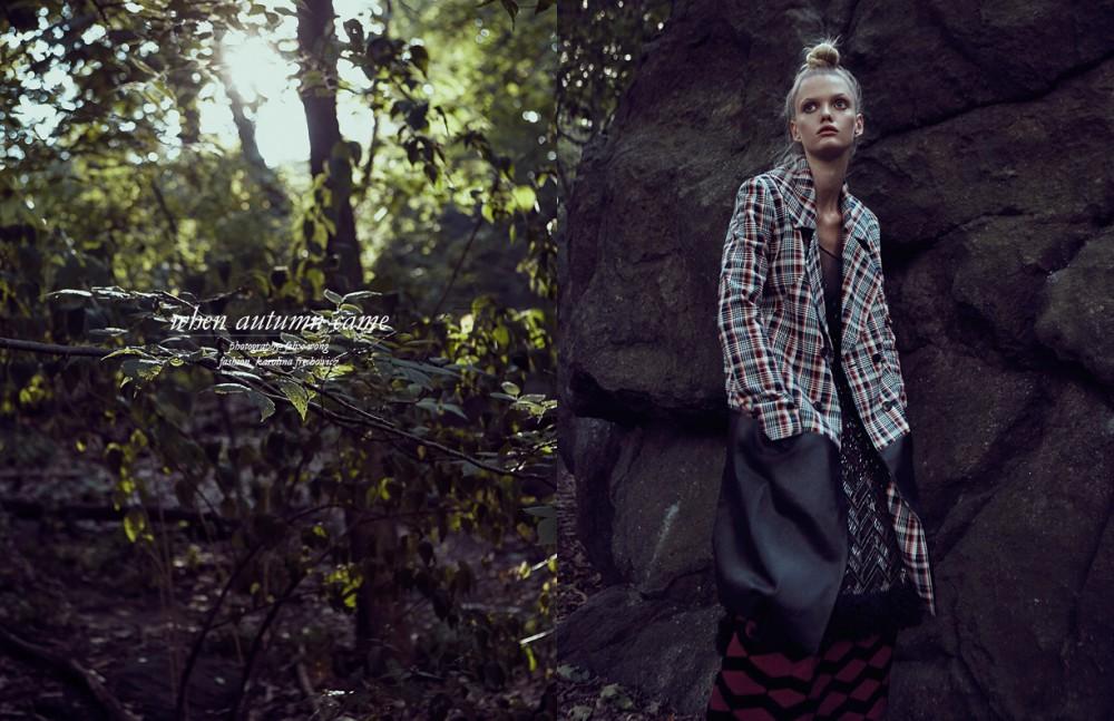 Skirt / Giulietta Coat / Adeam Sheer Dress / Gary Graham Boots / Delpozo