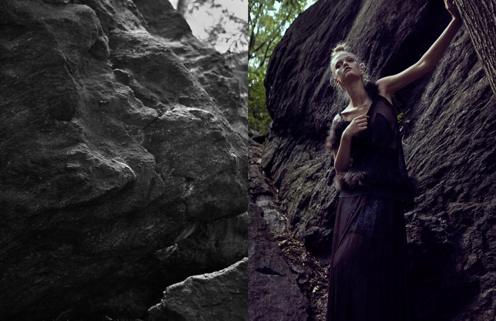 Top / Margiela Skirt underneath / Carven Long Skirt / Nicholas K