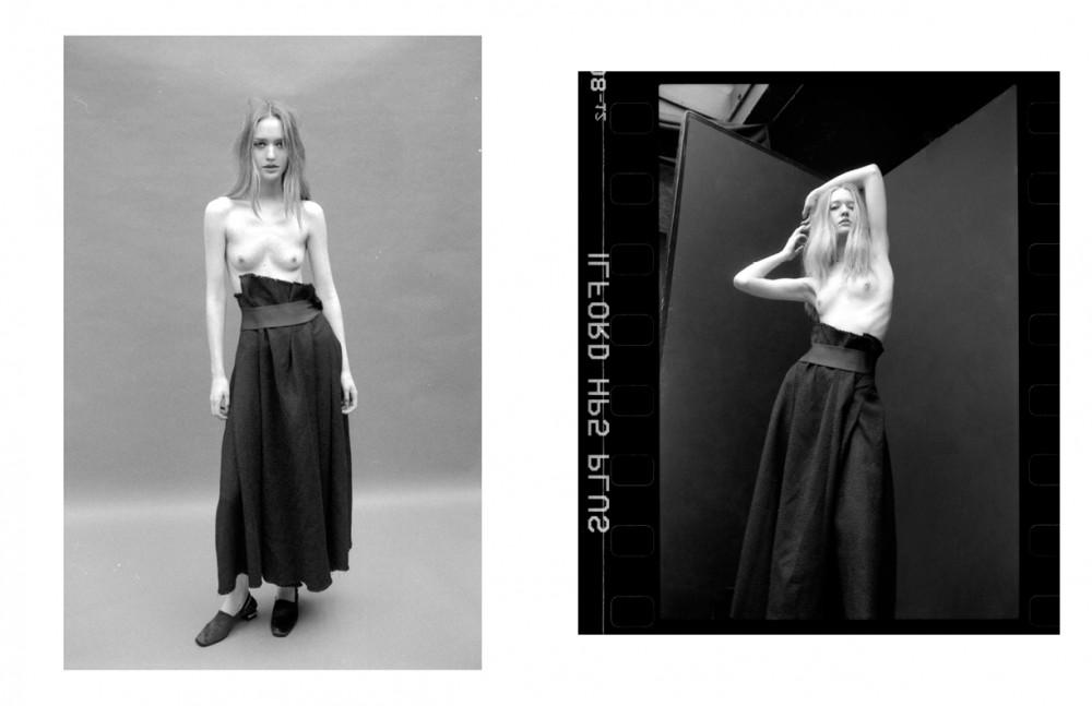 Ivana @ M&P wears Skit & Shoes / Toga