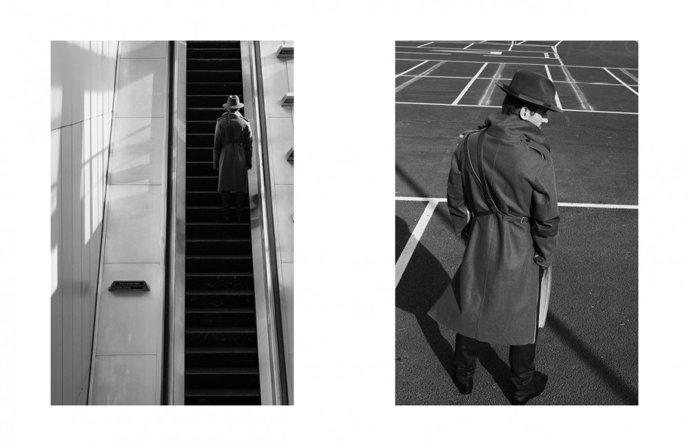 Coat / Todd Lynn Trousers / Aquascutum Hat / Laird Hatters Shoes / Christian Louboutin