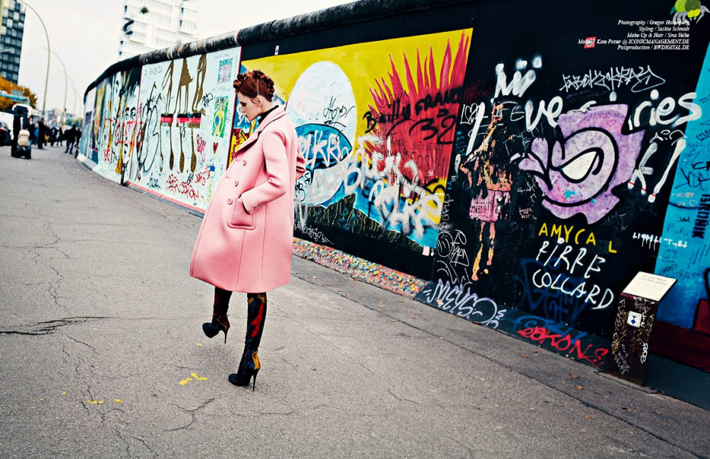 Coat & Shirt / Prada Boots / Burberry