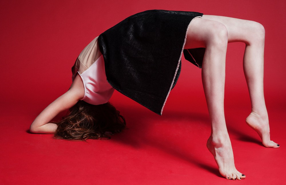 Mixed Material Dress / Danielle Romeril
