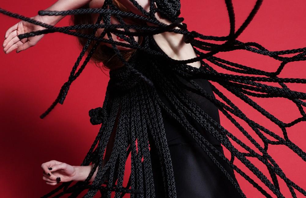 Rope Dress & Skirt / Giovanni Paolini