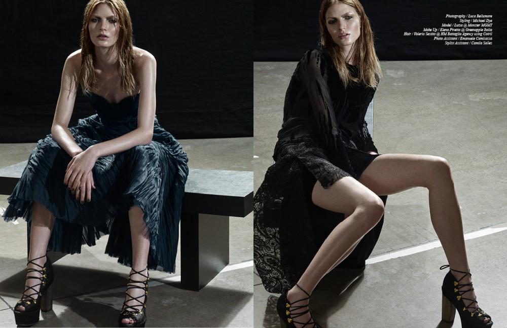 Dress / Eramanno Scervino Shoes / Wunderkind Opposite Dress / Guy Laroche Shoes / Wunderkind