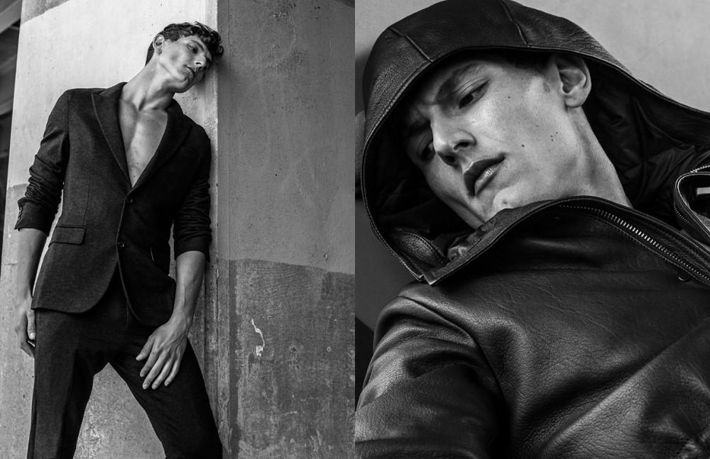 Suit / Louis Vuitton Opposite Coat / Pal Zileri