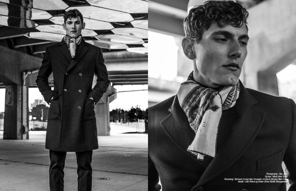 Coat, Pant & Scarf / Hermès
