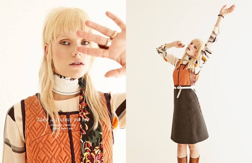 Dress / Missoni Blouse / House of Dagmar Scarf / MaxMara Boots / Chanel Skirt / Marimekko Bracelet / Pernille Corydon Belt / Hugo Boss Ring / Sägen, CK and Tiffany & Co