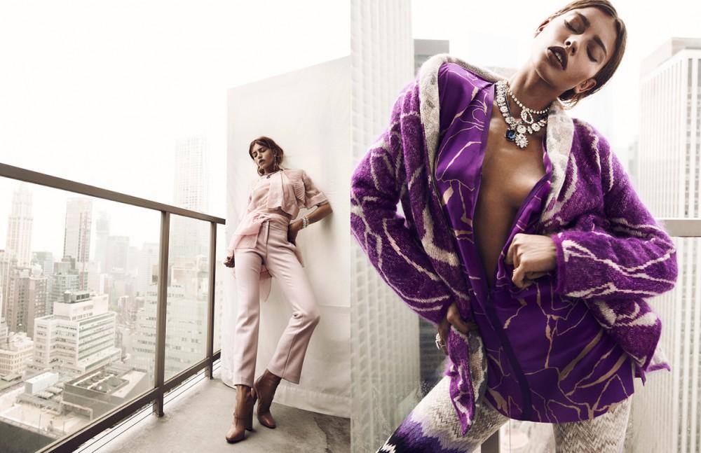 Top, Trouser & Shoe / N.21 All Jewelry / Stazia Loren Opposite Full look / Missoni All Jewelry / Stazia Loren
