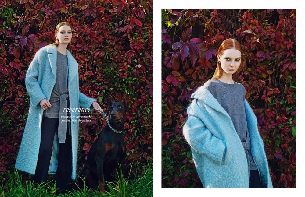 Coat / Scenarium Pullover & trousers / Sandro Earrings / Dior