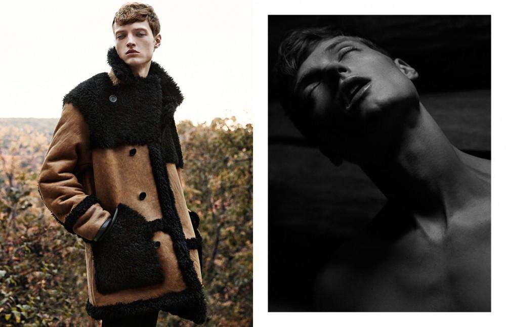 Coat / Coach Trousers / Ann Demeulemeester