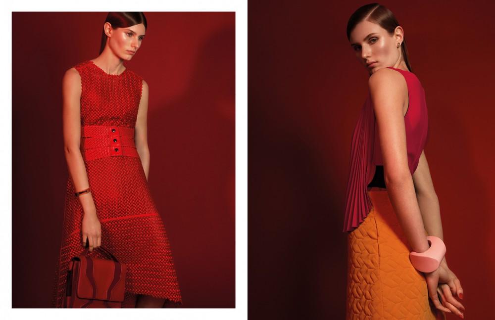 Dress / Gauchere Bra / Fabletics Belt / vintage Cuff / Xenia Bous Bag / Burak Uyan Opposite Earing / Givenchy Dress / Ungaro Skirt / Kilian Kerner Cuff / Xenia Bous
