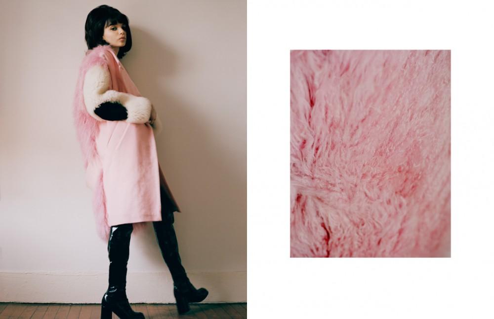 Jacket / Sandy Liang Jumpsuit / MadeMe Boots / Vintage
