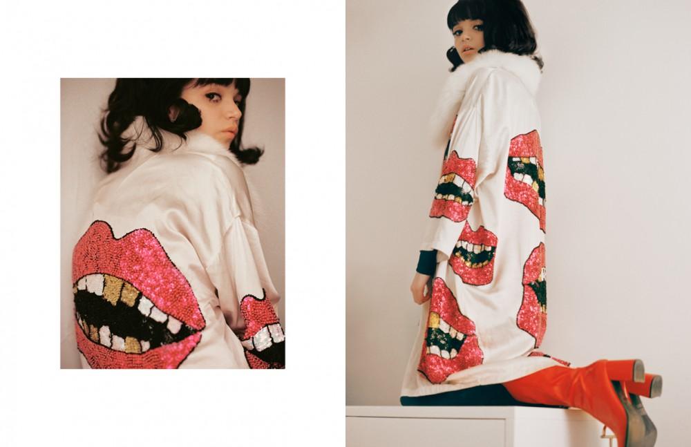 Robe / Discount Universe Opposite Robe / Discount Universe Boots / Vintage Leg Adornment / Dior