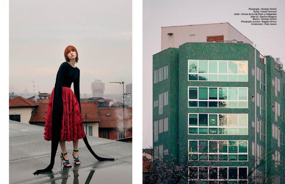 Top / Max Tan Skirt / Michael Kors Shoes / Sergio Rossi