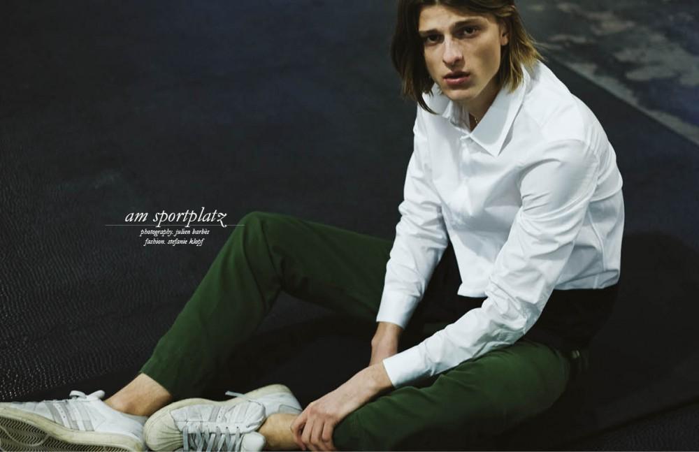 Shirt / Marni via Mr. Porter Trousers / Vintage Trainers / Adidas