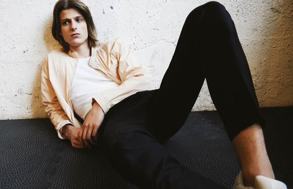 Jacket / Jil Sander Top / Vintage Trousers / H&M Trainers / Adidas
