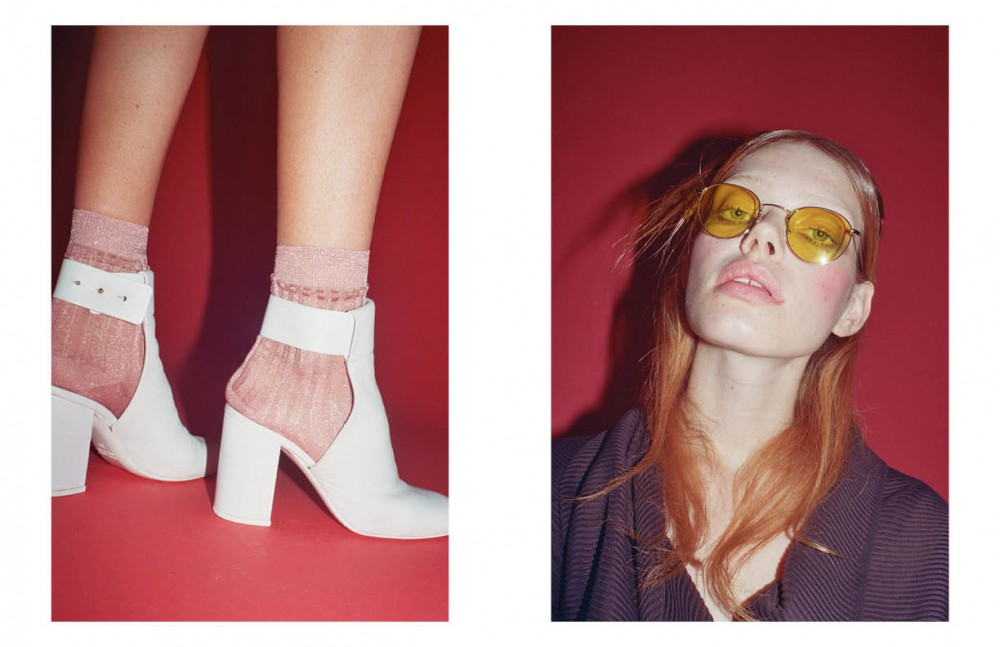 Shoes / Marios Socks / Gizeta Opposite Coat / Alessandro Dell'Acqua Glasses / Eyepetizer