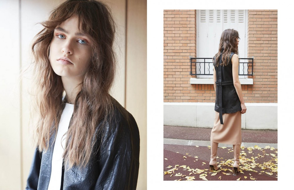Jacket / Victoria / Tomas Opposite Shirt / Ainur Turisbek Skirt / Veronique Leroy Boots / Nicholas Kirkwood