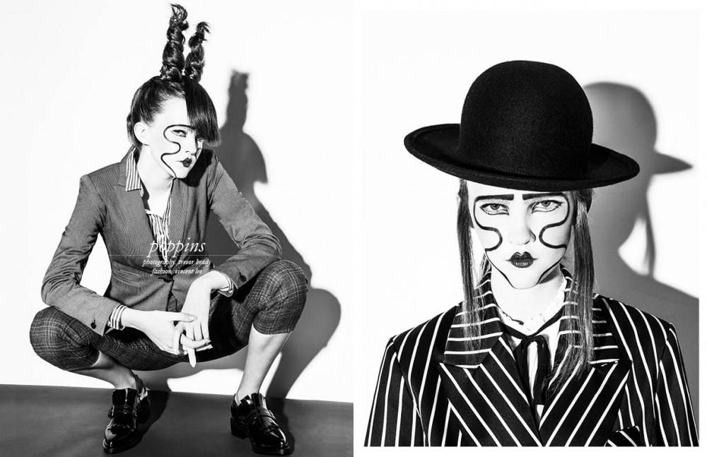 Blazer / Michael Kors Blouse / Ralph Lauren Trousers / Ralph Lauren Shoes / Vintage Opposite Hat / Claudia Schulz Blazer / Topshop Blouse / Vintage