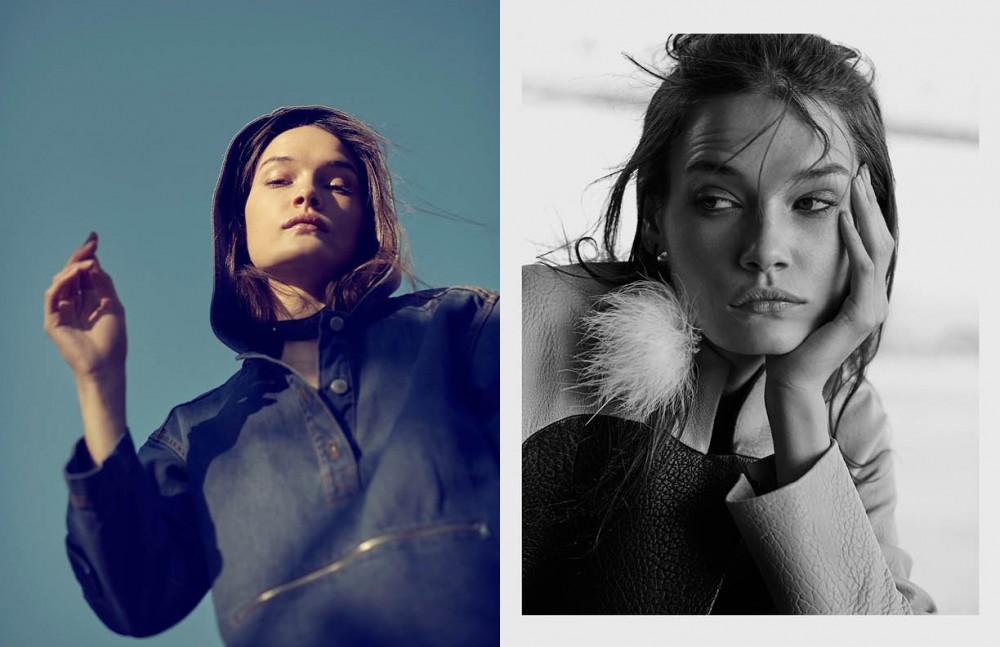 Top / Suno Choker / Zana Bayne Opposite Jacket / Zero+Maria Cornejo Earring / Tuleste