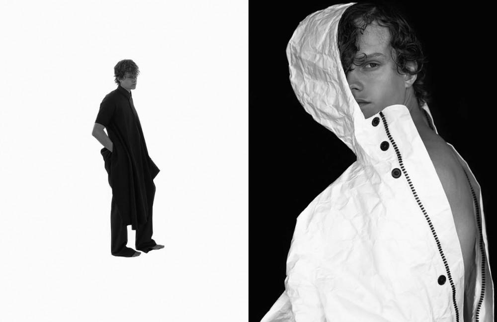 Dress & shirt / Henrik Vibskov Trousers / Robert Geller Opposite Jacket / UEG