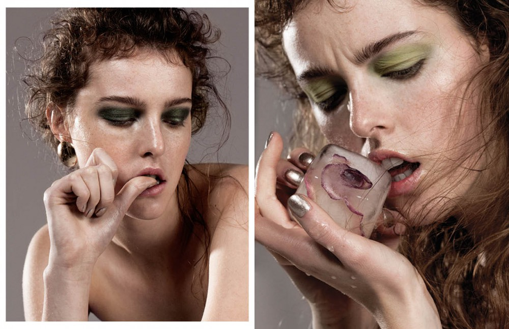 Earrings / Arme de l´amour Foundation / Yves Saint Laurent Eyeshadow / Zoeva Opposite Nails / Deborah Lippmann Eyeshadow / Chanel