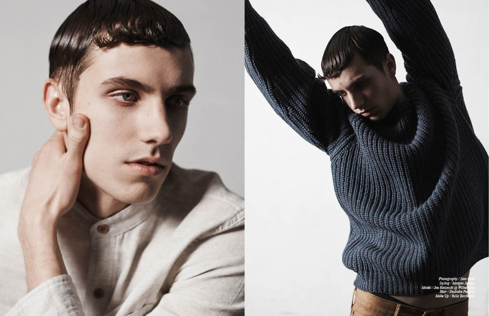 Shirt / Gant Rugger Opposite Jumper / Resurrection Jeans / Levi's Underwear / Comme des Garcons