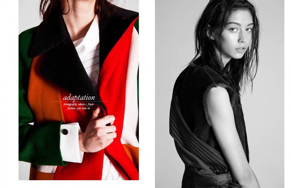 Gilet / Rae Feather Waistcoat / Ziqing Zhou Opposite Coat / Yuzzo Shirt / Ziqing Zhou
