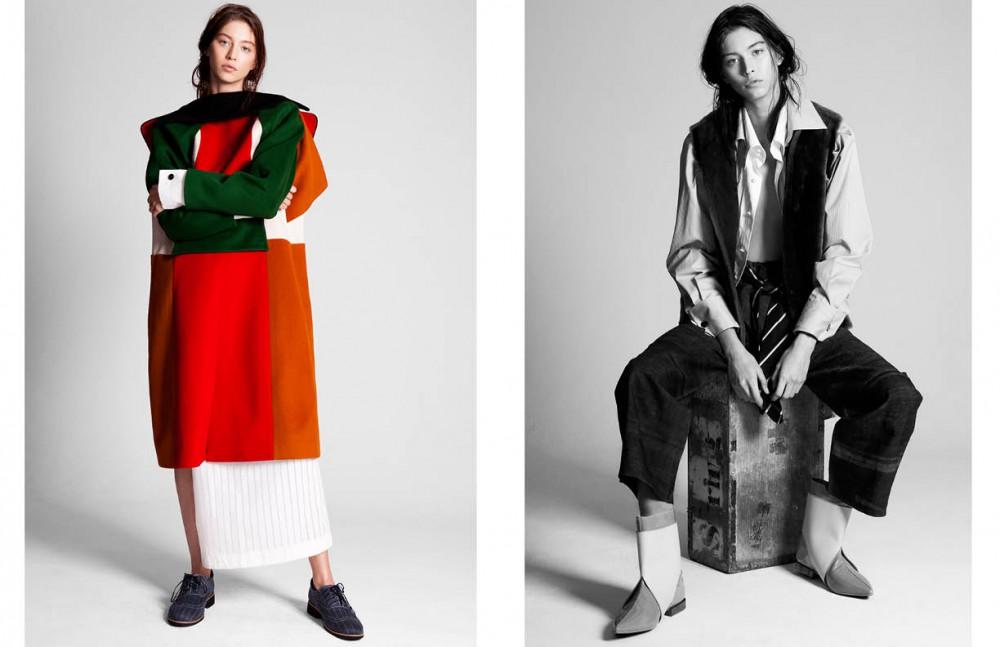 Coat / Yuzzo Shirt & shoes / Ziqing Zhou Opposite Shirts & tie / Ziqng Zhou Gilet / Rae Feather Trousers / Renli Su Boots / Niki Jessup