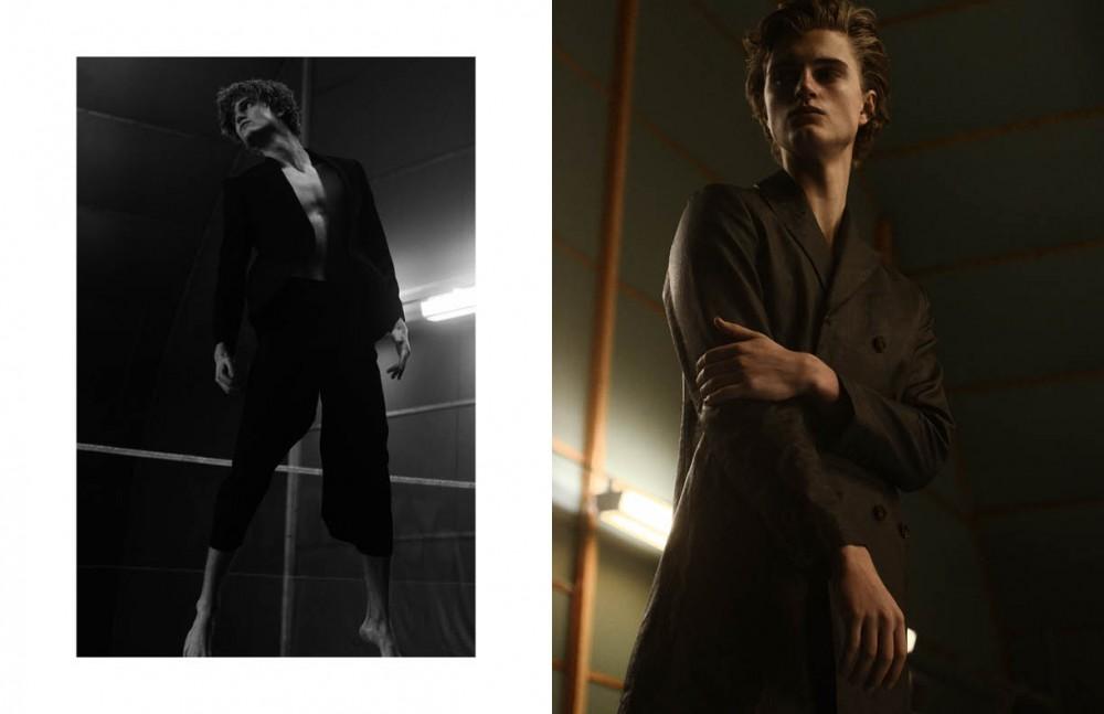 Jacket / Vistula Trousers / VICTOR NOUMAN Opposite Coat / Hugo Boss