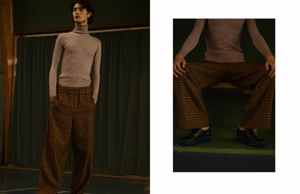 Turtleneck / Hugo Boss Trousers / MICHAŁ WÓJCIAK Opposite Turtleneck / Hugo Boss Trousers / MICHAŁ WÓJCIAK