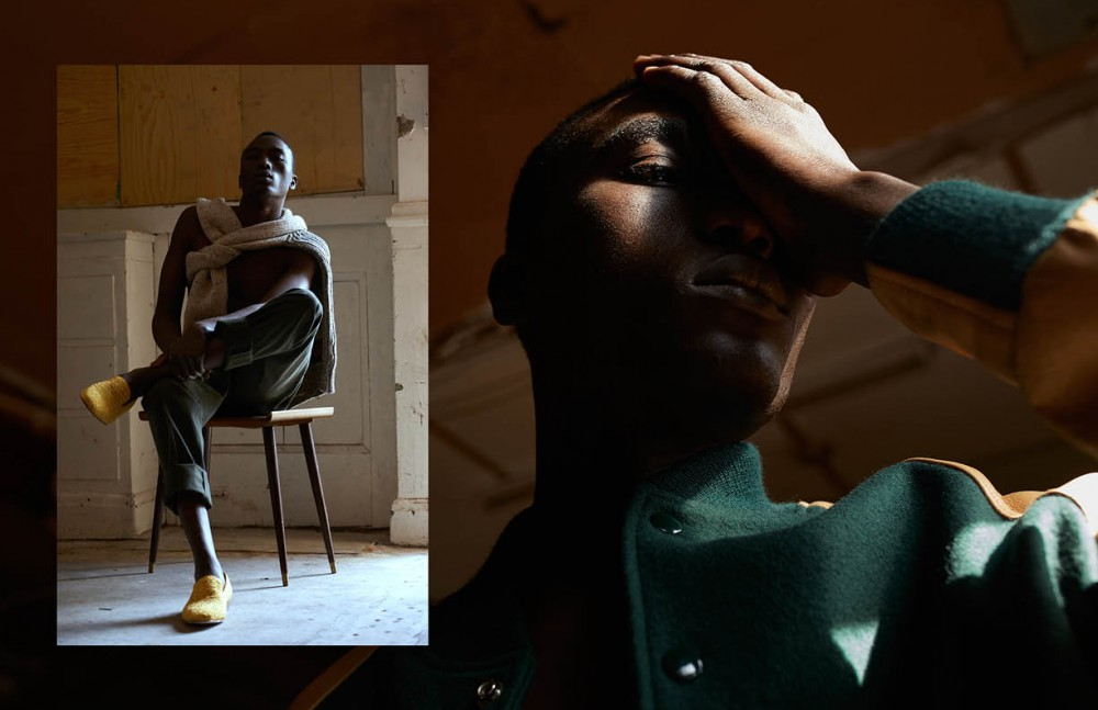 Knitwear / Peregrine Trousers / Percival Shoes / Christian Louboutin Opposite Jacket / Harry Stedman