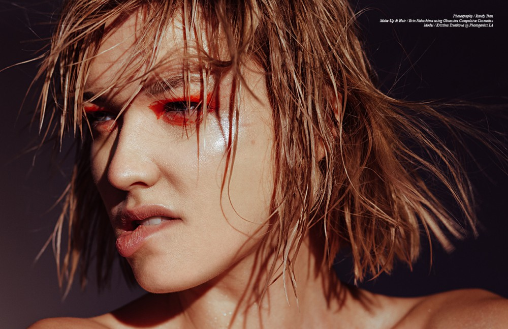 Eyes / Obsessive Compulsive Cosmetics Crème Colour Concentrate in District Lips / Obsessive Compulsive Cosmetics Lip Tar in Interlace